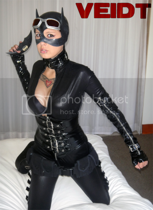 Catwoman cosplay fetish
